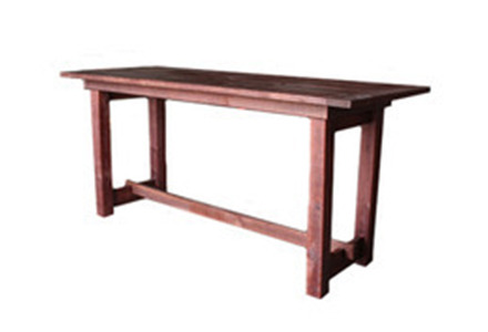 Charmant Mahogany Pub Farm Table
