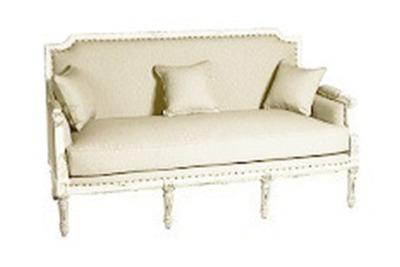 Louis Sofa, Natural. $400.00. Diggs Lounge