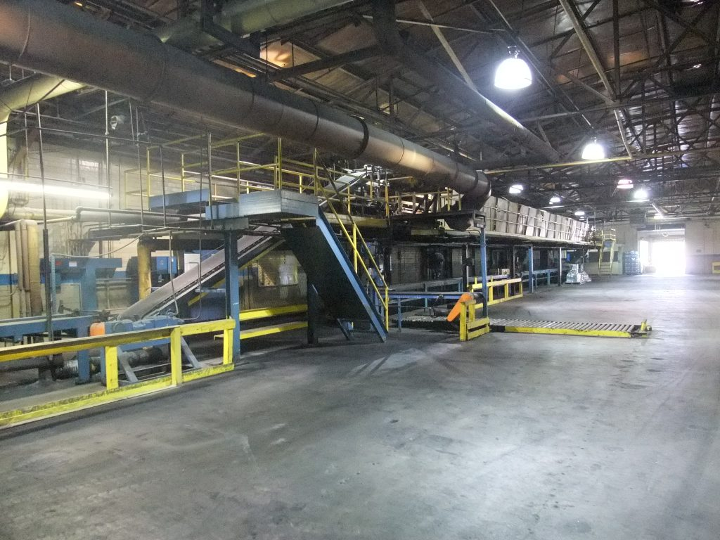 Tread Department Tread Extrusion Line