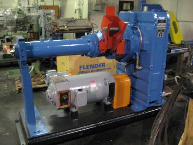 NRM 120mm Cold Feed Rubber Extruder 12:1 L/D