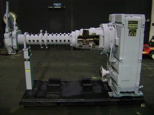 NRM 3 1/2 Cold Feed Pin Barrel Extruder for Sale