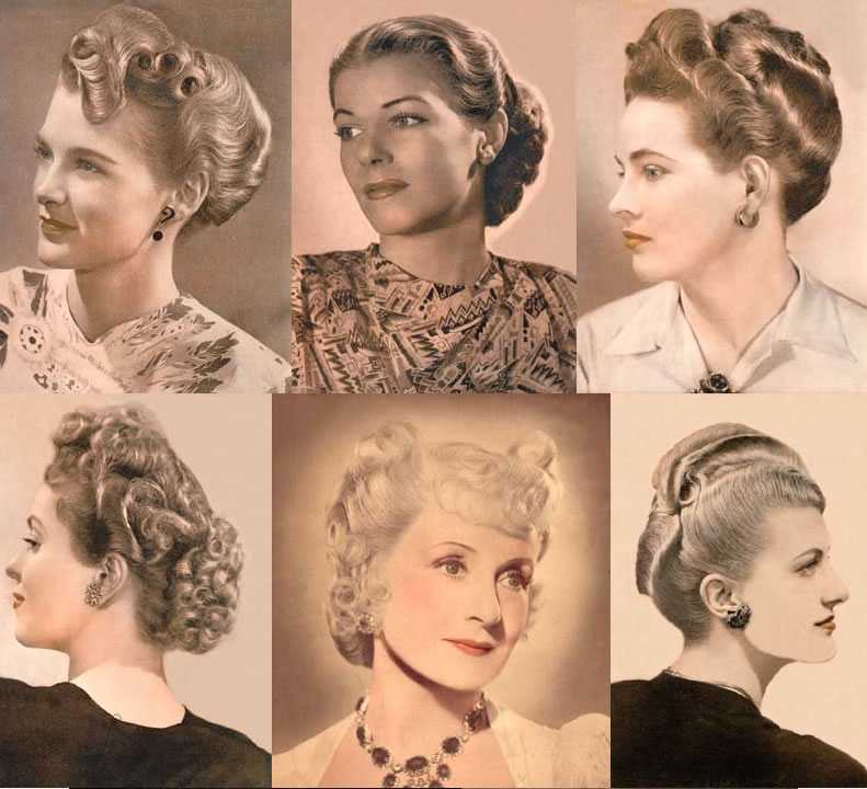 1940s Hairstyles Updo 9356955 Terrasourcefo