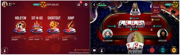 Zynga poker скачать