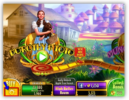 free online wizard of oz slot games