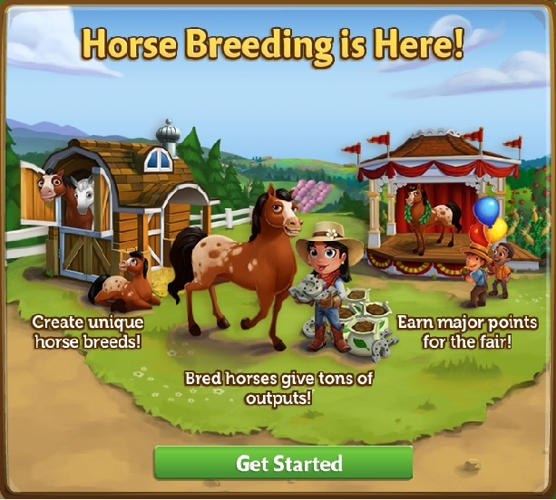 Zynga support for Farmville horse