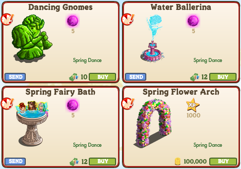 Official guide walkthrough new limited edition items for Spring dance decorations