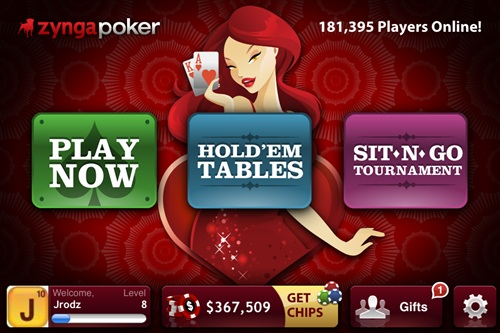 how to play zynga poker on facebook