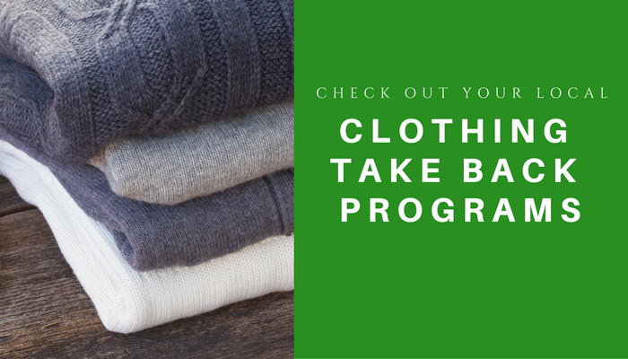 clothing take back programs
