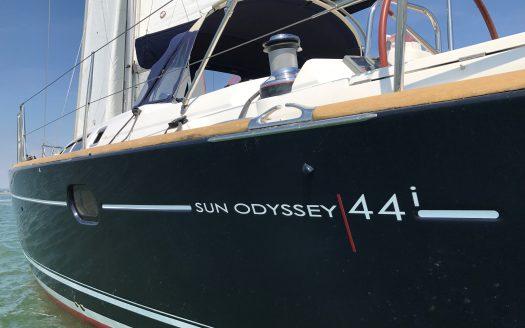 Hurricane – Jeanneau Sun Odyssey 44i