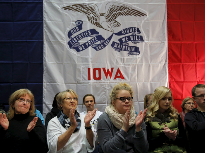 Iowa caucuses edit