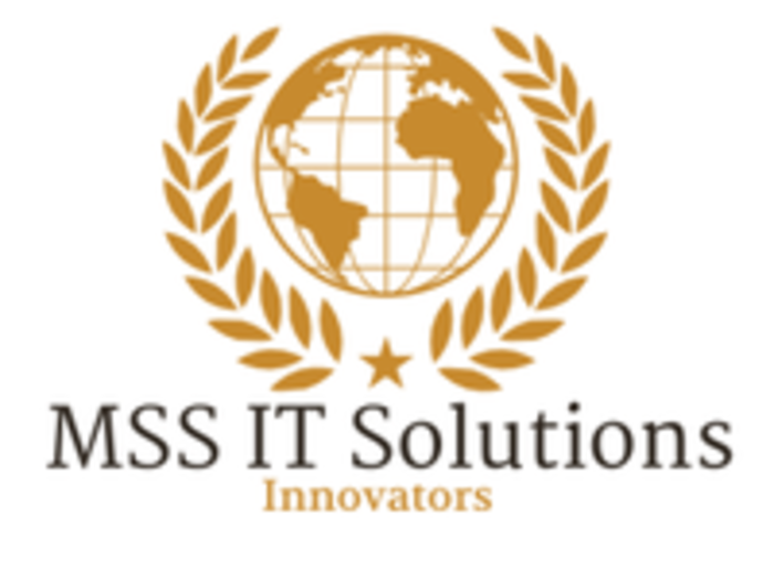 Mss it solutions logo white