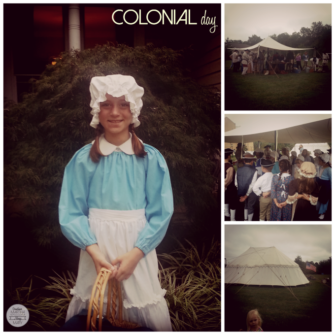 colonial day SMAM