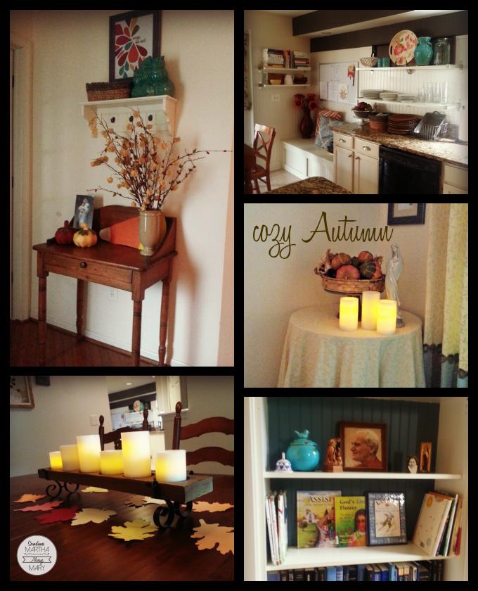 cozy autumn collage SMAM