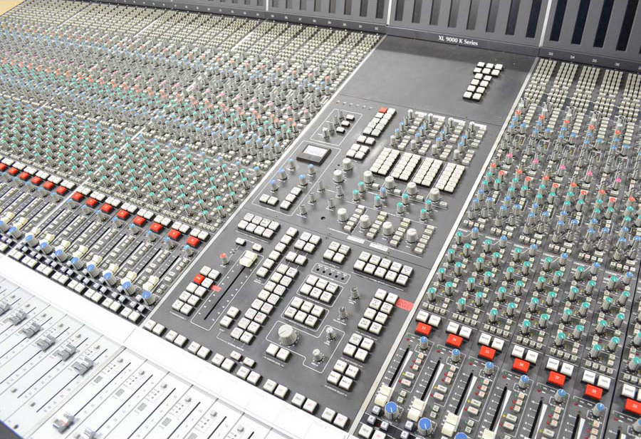 SSL 9000K Sonic Circus Top Rated Consoles