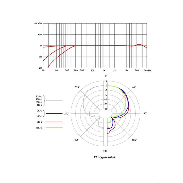T2 Titanium Diaphragm Microphone