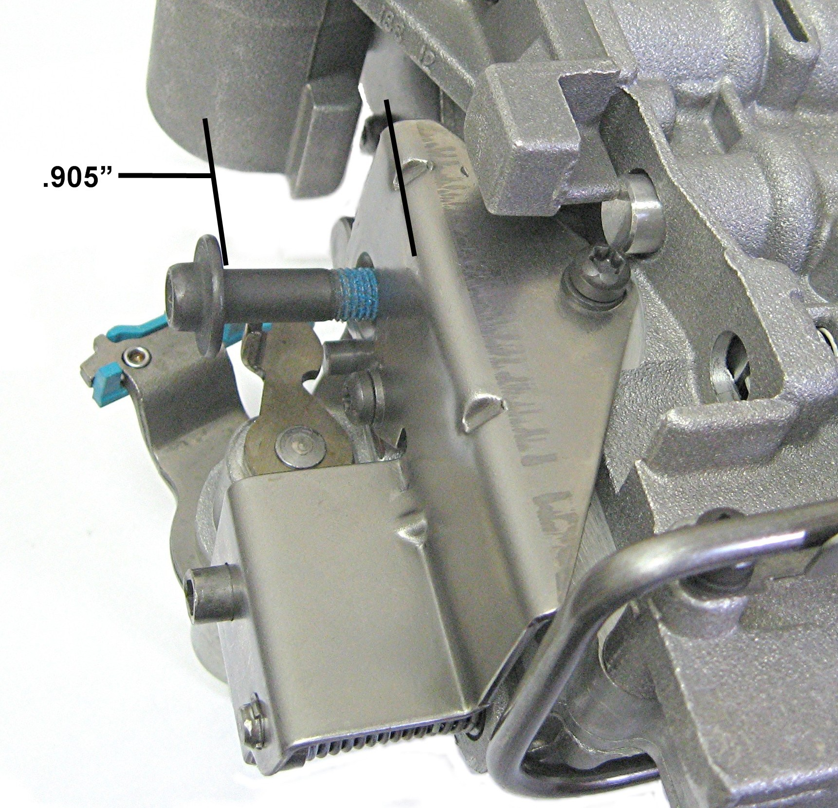 sonnax 48re transmission throttle valve actuator codes using the cable type bracket out changing the setting on the adjustment screw can set a p1751 and or a p1752