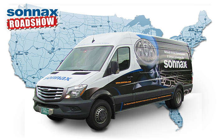 Sonnax Roadshow - Revamped!