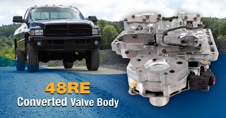 Introducing the Sonnax 48RE Converted Valve Body (CHR135)