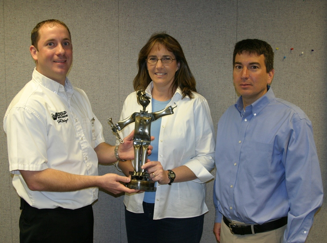 Sonnax Honored with Jasper Supplier Service Award