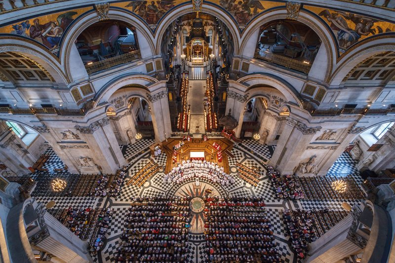 Festival Service 2016 - St Paul's from above