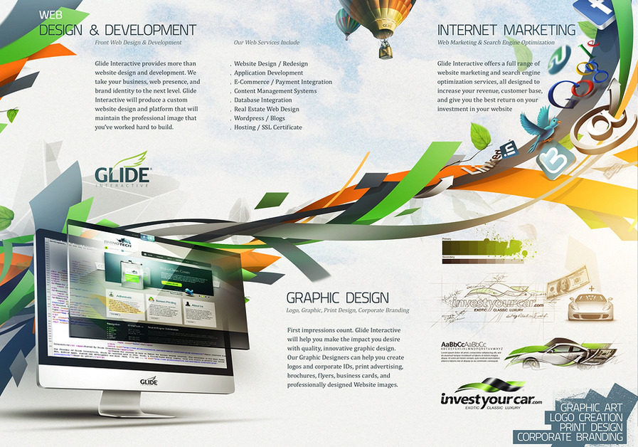 A great web design by Glide Interactive
