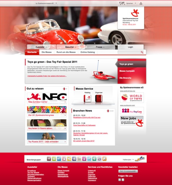 A great web design by dkd Internet Service GmbH