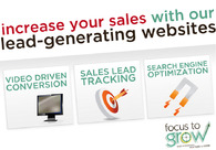 A great web design by Focus To Grow