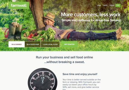 A great web design: Website, E-Commerce , Food & Beverage , Ruby on Rails