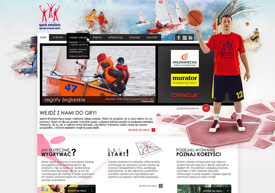 A great web design by extensa