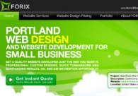 A great web design by Forix LLC