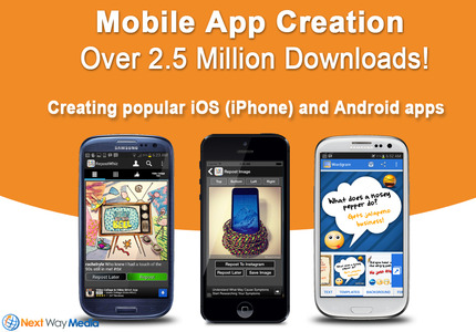A great web design: Mobile App , Social/Community , Service , Android (Java)