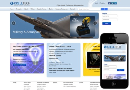A great web design: Responsive Website, Marketing Website , Technology , ExpressionEngine
