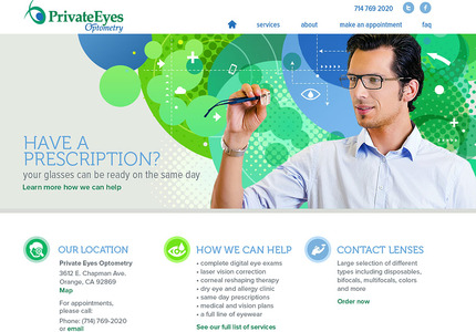 A great web design: Website, Marketing Website , Healthcare, PHP