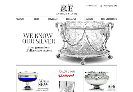 A great web design by Ante Meridiem Design