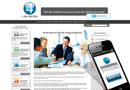 A great web design: Website, Legal , PHP
