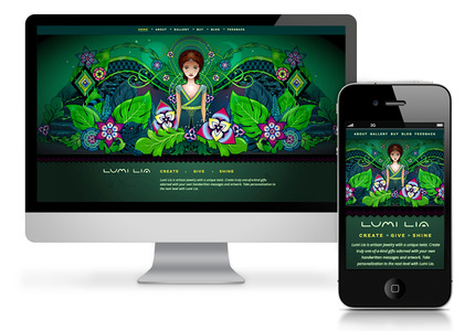 A great web design: Responsive Website, E-Commerce , Fashion , Wordpress