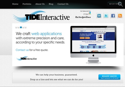 A great web design: Website, Portfolio , Technology , Wordpress