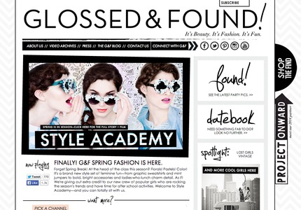 A great web design: Fashion , Wordpress