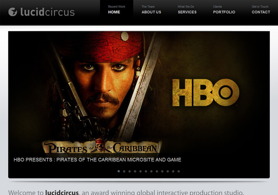 A great web design by lucidCircus