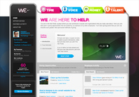 A great web design by We the Media