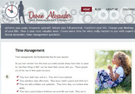 A great web design by Dustin Ward Web Development
