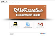 A great web design by Rawr Creative