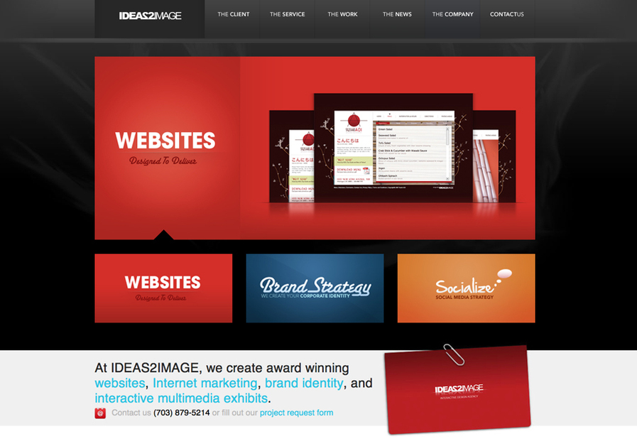 A great web design by IDEAS2IMAGE, Inc.