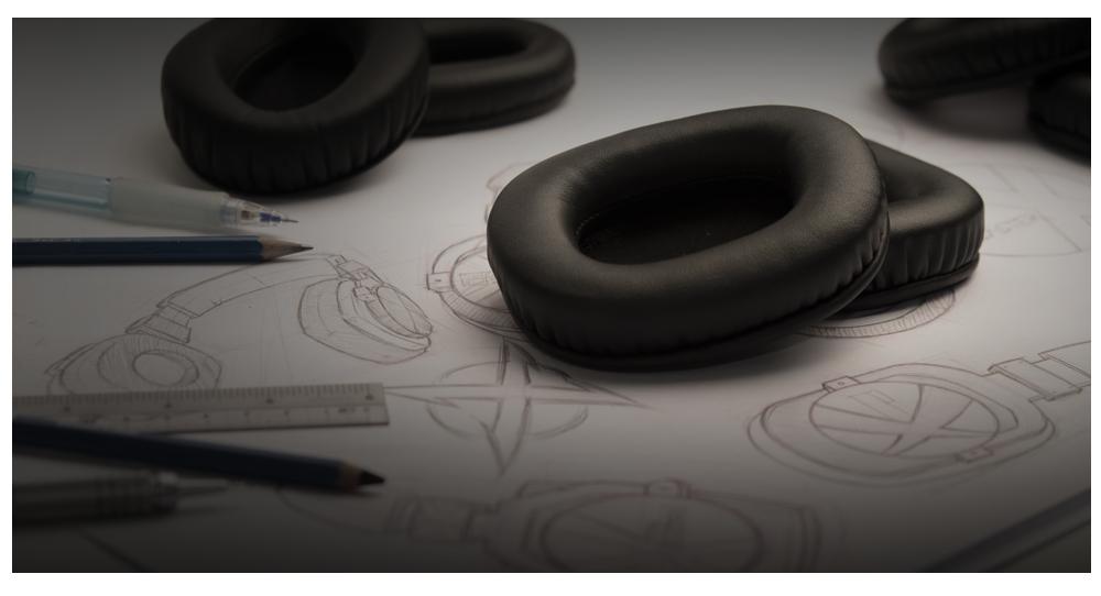 BlasterX Earcup Design