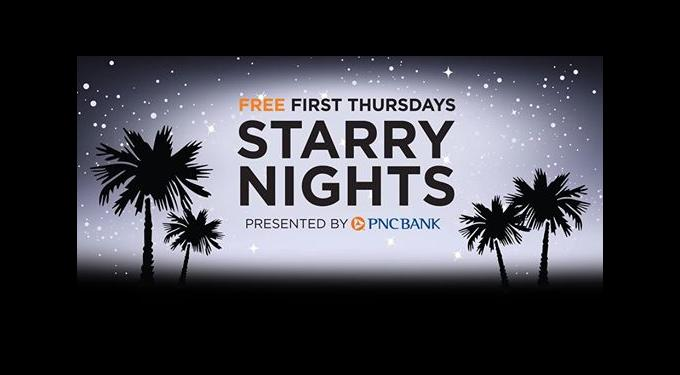 Free First Thursdays Starry Nights
