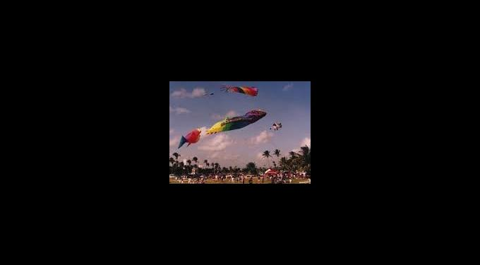 Annual Kite Festival at Haulover Park