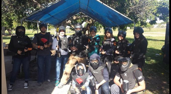 Family Paintball