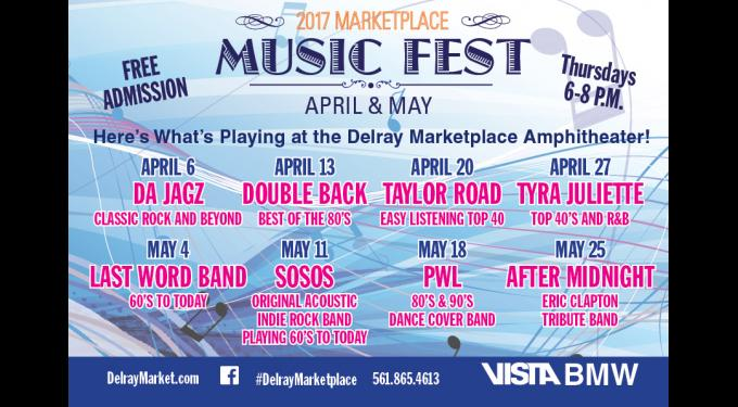 Delray Beach Marketplace Events