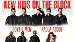 "New Kids On The Block brings ""The Total Package Tour"" Including Boyz II Men & Paula Abdul @ Hard Rock Live 