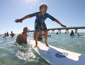 Firefighters Surf For Autism In Deerfield Beach @ Deerfield Beach Municipal Beach | Deerfield Beach | Florida | United States